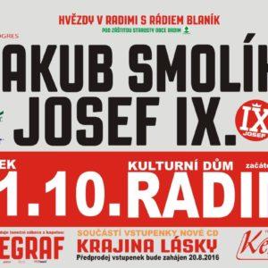 Plakát koncert Radim